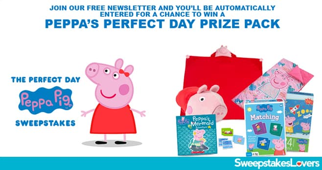 Nick Jr Peppa Pig Sweepstakes 2020
