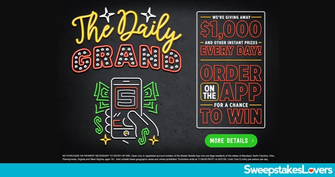 Sheetz Daily Grand Sweepstakes 2020