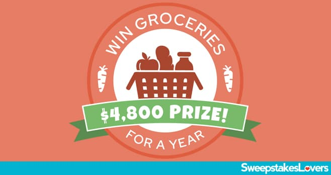 Valpak Groceries for Year Sweepstakes 2020