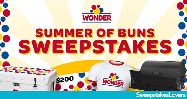 Wonder Bread Summer of Buns Sweepstakes 2020