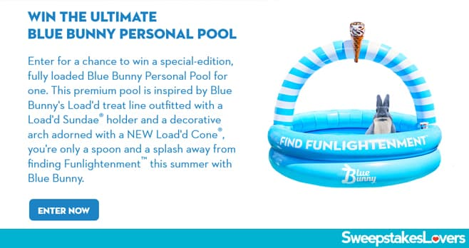 Blue Bunny Pool Giveaway 2020