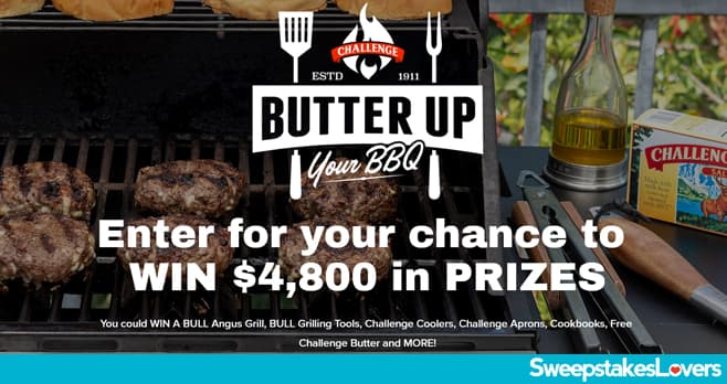 Challenge Butter Butter Up Your BBQ Sweepstakes 2020