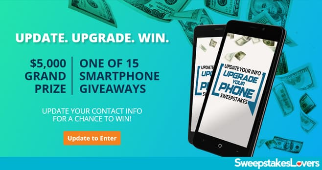 Credit One Bank Update Your Info, Upgrade Your Phone Sweepstakes 2020
