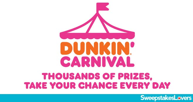 Dunkin Carnival Instant Win Game 2020