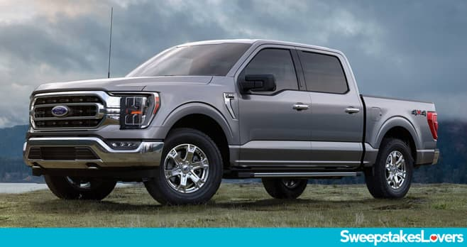 Ford F-150 In Your Driveway Sweepstakes 2020