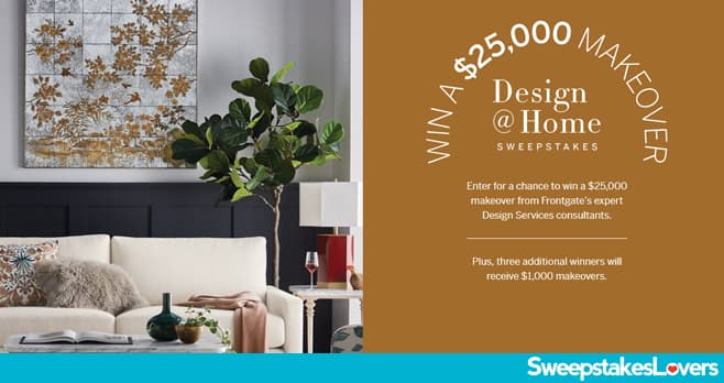 Frontgate Design @ Home Sweepstakes 2020
