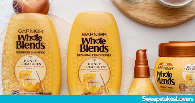 Garnier Find Your Blend Sweepstakes 2020