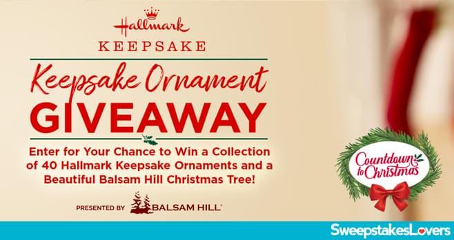 Hallmark Keepsake Ornaments Giveaway 2020