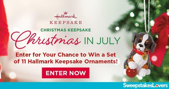 Hallmark Channel Keepsake Ornament Giveaway 2020