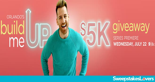 HGTV Build Me Up Sweepstakes 2020
