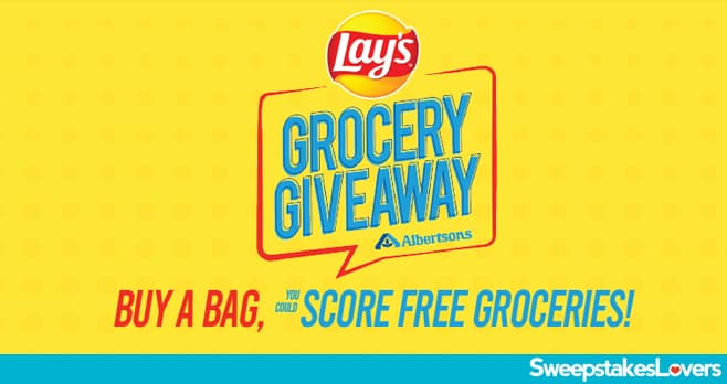 Lay's Grocery Giveaway 2020 at Albertsons
