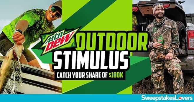 Mountain Dew Outdoor Stimulus 2020