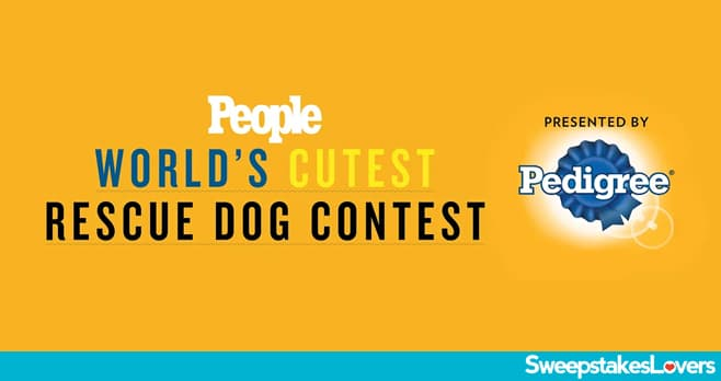 People World's Cutest Rescue Dog Contest 2020