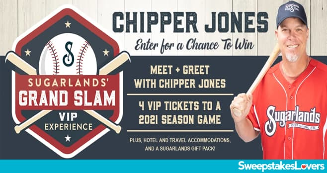 Sugarlands Grand Slam VIP Experience Sweepstakes 2020