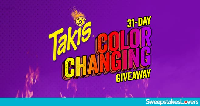 Takis Color Changing Giveaway 2020