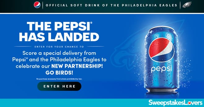 The Pepsi Has Landed Sweepstakes 2020