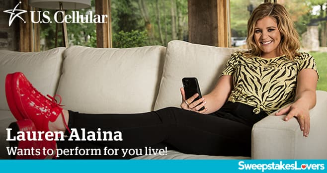 U.S. Cellular Lauren Alaina Sweepstakes 2020