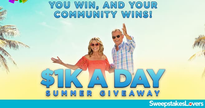 Wheel Of Fortune $1K A Day Summer Giveaway 2020
