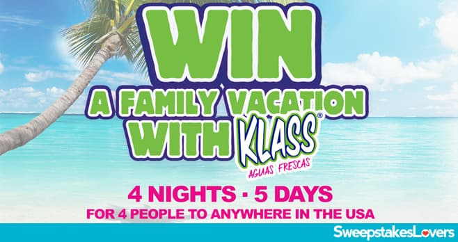 Win With Klass Sweepstakes 2020