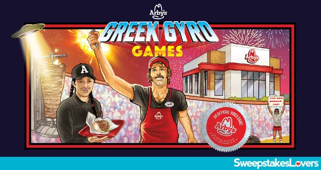 Arby's Greek Gyro Games Sweepstakes 2020