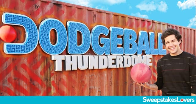 Discovery Channel Dodgeball Thunderdome Sweepstakes 2020