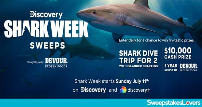 Discovery Shark Week Sweepstakes 2021