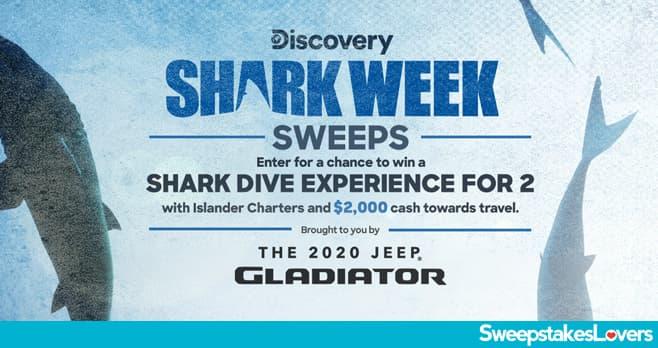 Discovery Shark Week Sweepstakes 2020