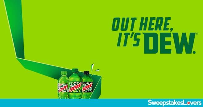 Hy-Vee Out Here, It's Dew Sweepstakes 2020