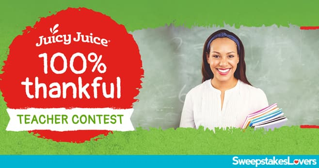 Juicy Juice 100% Thankful Contest 2020