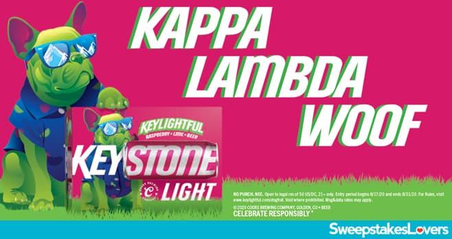 Keystone Light Keylightful Kappa Lambda Woof Contest 2020