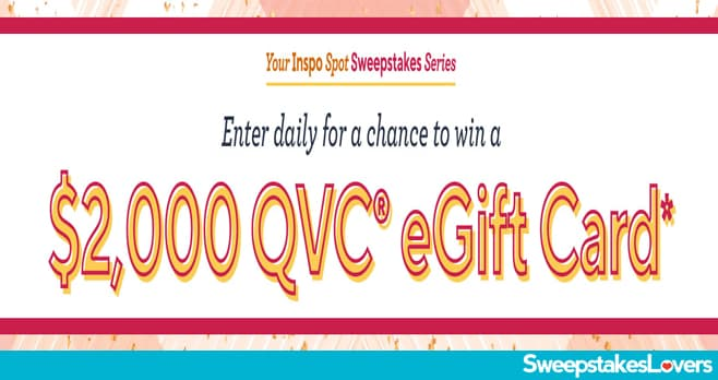 QVC Your Inspo Spot Sweepstakes 2020