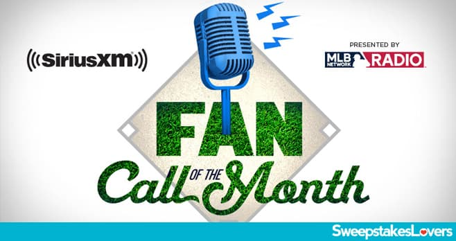 SiriusXM MLB Network Radio Fan Call Contest 2020