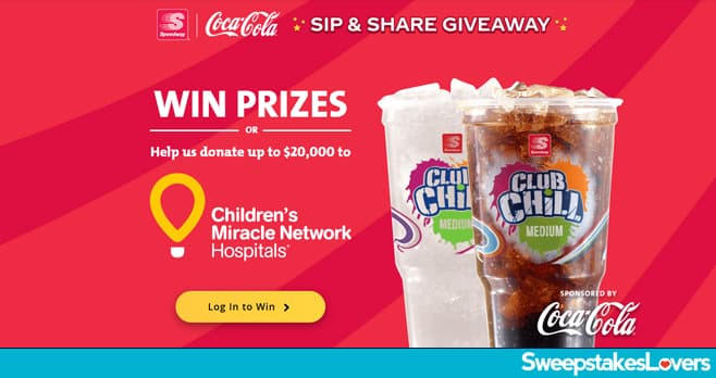 Speedway and Coca-Cola Sip & Share Instant Win Game 2020