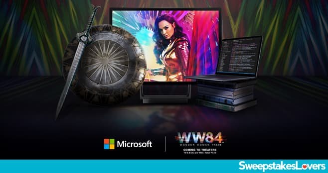 Wonder Woman 1984 & Microsoft Code Hunt Sweepstakes 2020