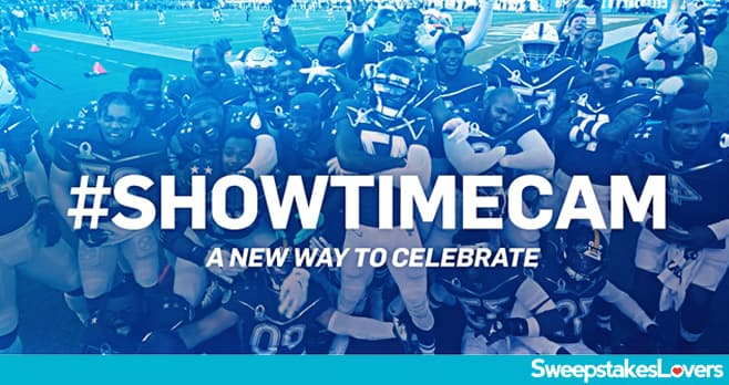 Bud Light Showtime Cam Sweepstakes 2020