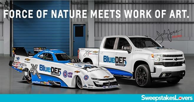 Chevrolet Silverado Blue Def Sweepstakes 2020