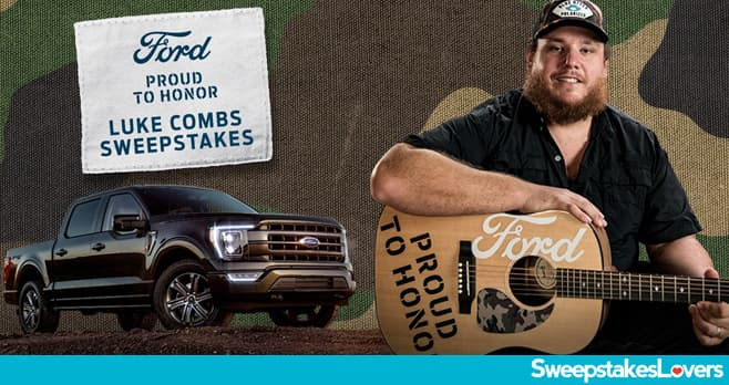 Ford Proud To Honor Sweepstakes 2020