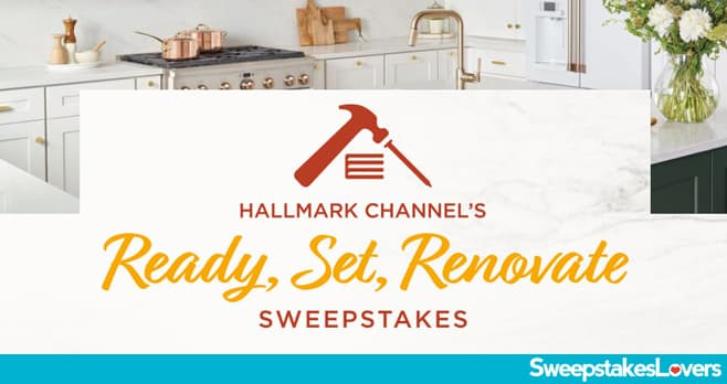 Hallmark Channel Renovation Sweepstakes 2020