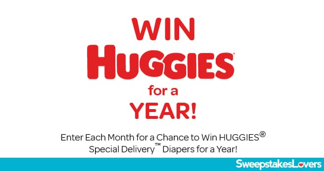 HUGGIES For A Year Sweepstakes 2020