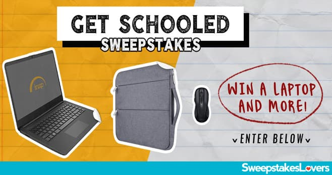 INSP.com Get Schooled Sweepstakes 2020