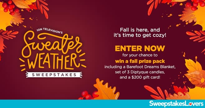 ION Television Sweater Weather Sweepstakes 2020