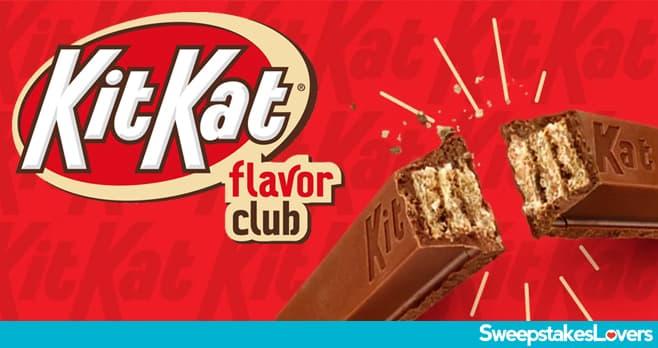 KIT KAT Flavor Club Sweepstakes 2020