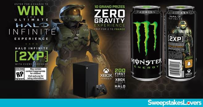 Monster Energy Halo Infinite Sweepstakes 2020