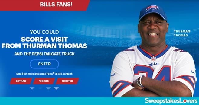 Pepsi Bills Circle The Wagons Sweepstakes 2020