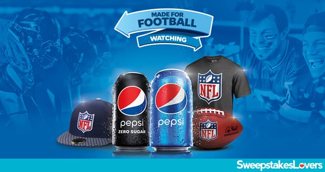 Pepsi Gear Up For Gameday Sweepstakes 2020