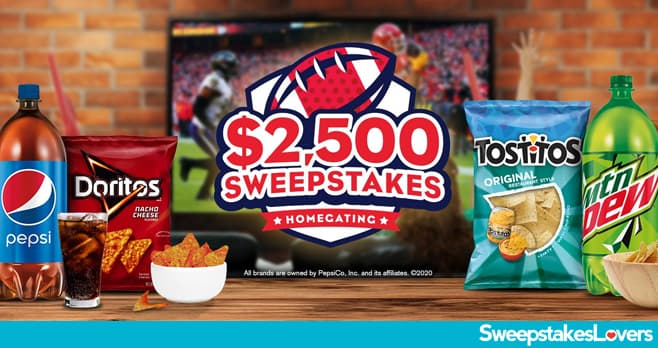 Tasty Rewards $2,500 Homegating Sweepstakes 2020