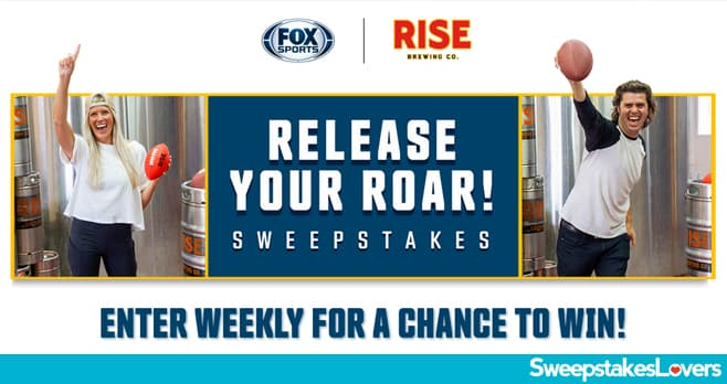 FOX Sports Release Your Roar Sweepstakes 2020