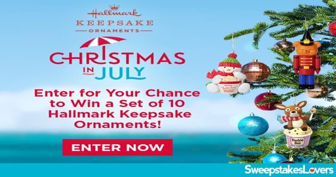 Hallmark Countdown to Christmas Keepsake Ornament Giveaway 2021