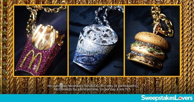 J Balvin McDonalds Sweepstakes 2020