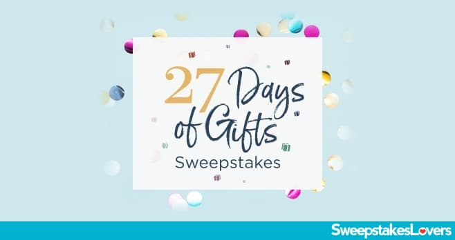 JTV 27 Days of Gifts Sweepstakes 2020